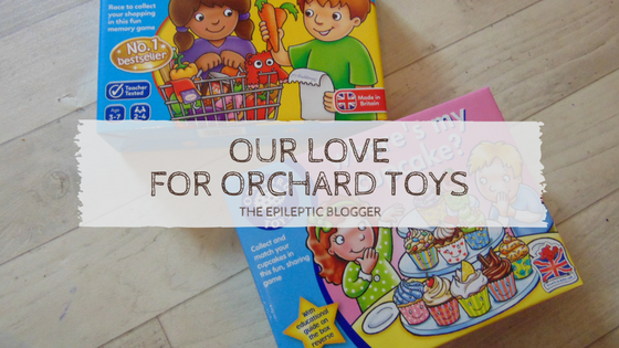 Our love for Orchard Toys.