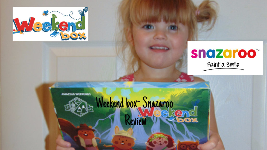 Weekend box Featuring Snazaroo! | review.