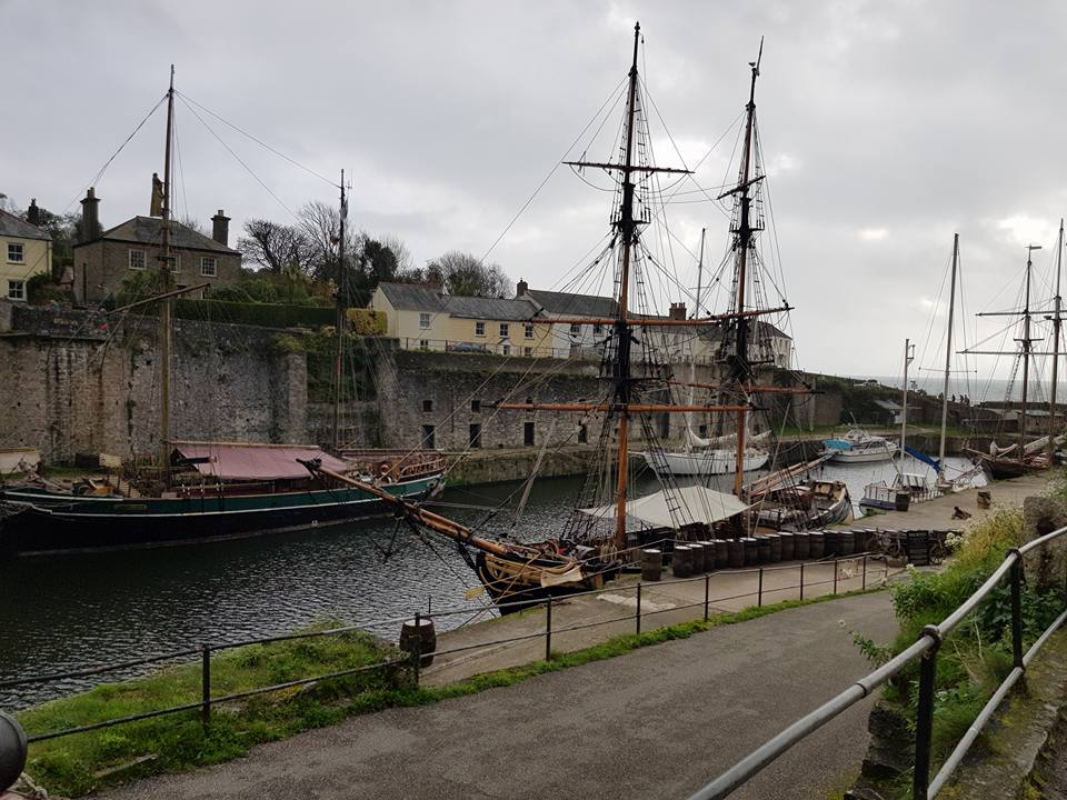 Ships in the port of charlestown