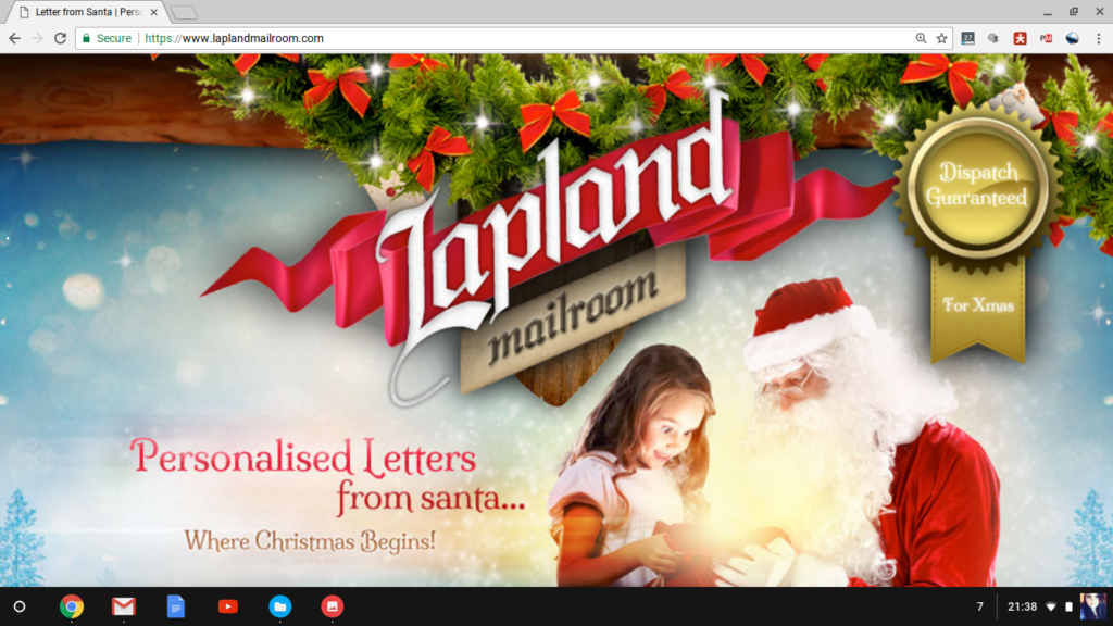 Lapland Christmas Mailroom Review pt 1