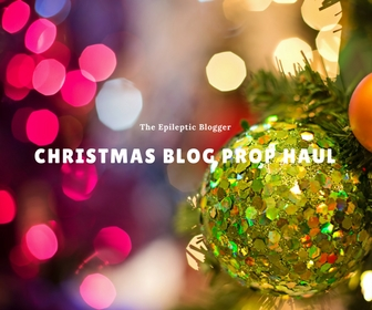 Mini Christmas Blog Prop Haul.