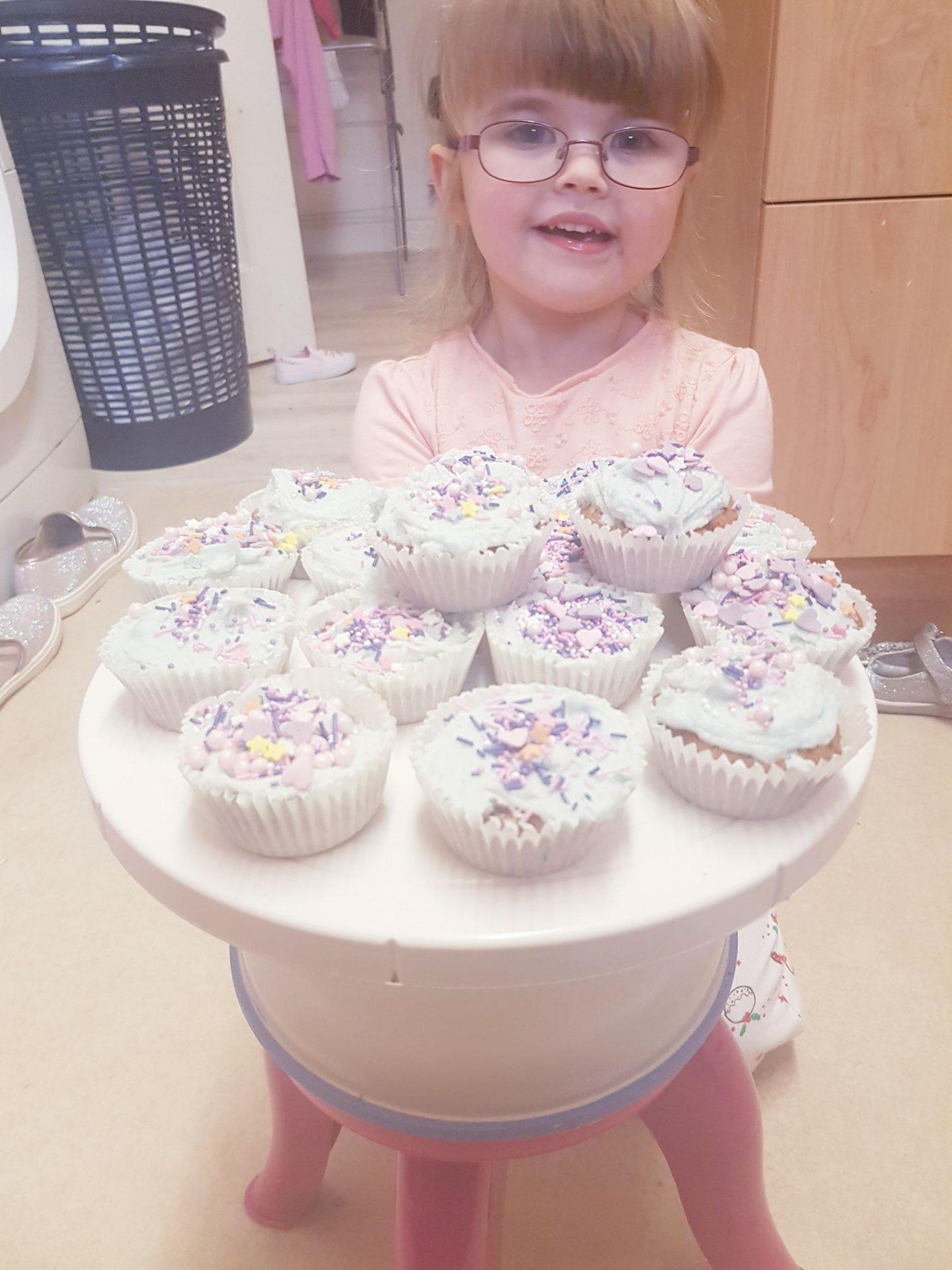 Friday Food! Mermaid Cupcakes.