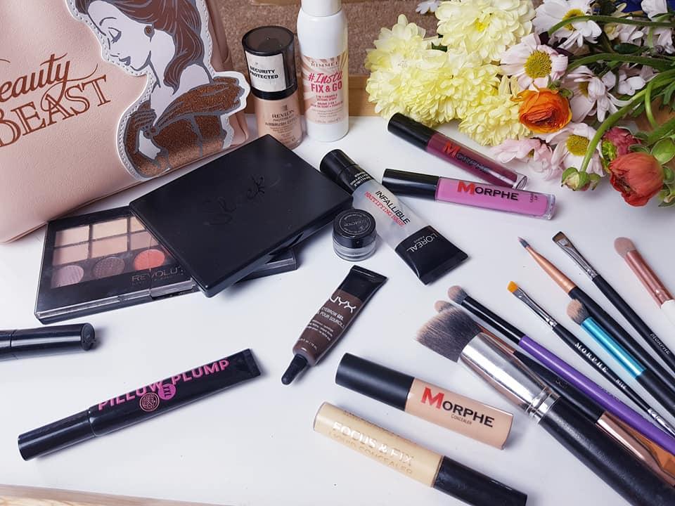 Spring make-up