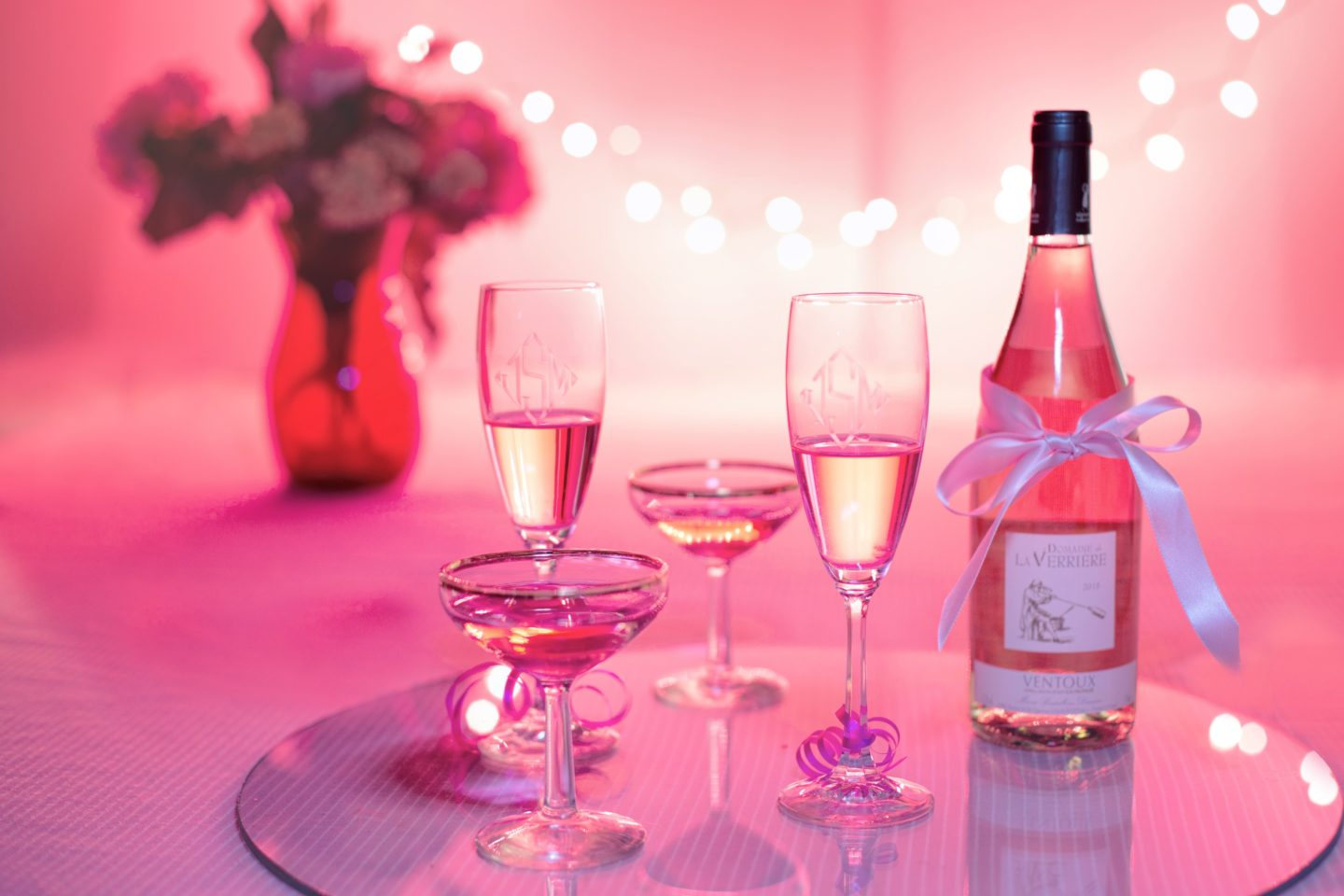 Top Food Matches for Pink Champagne
