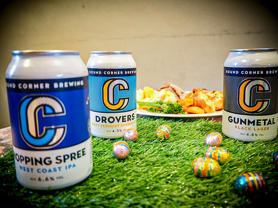 Level up your Easter dinner with Round Corner brews.